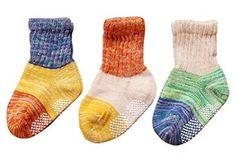 Amazon.com: Unisex Baby 3-Pack Bright Colored Cotton Socks: Clothing
