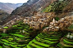 La gran extensión de Marruecos hace que en la infinidad de sus lares existan ciertos enclaves que bien por su localización o acceso, son menos conocidos para los viajeros que visitan este espectacular país.