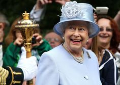 No wonder she's cheerful - the Queen will now remain at her beloved private estate until October
