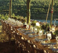 Mountain Wedding Table