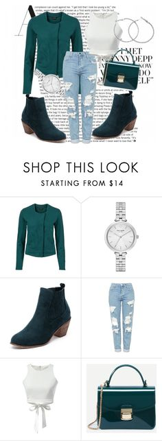 """""""sheIn 8"""" by leagoo ❤ liked on Polyvore featuring Kate Spade and Topshop"""