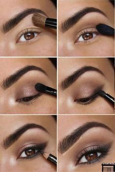 Make-up for on a regular basis Hello, beauties! In the present day I'll share with you pictures and tutorials of beautiful make-up. Makeup Inspo, Makeup Art, Makeup Inspiration, Hair Makeup, Makeup Ideas, Makeup Tutorials, Eye Makeup Pictures, Makeup Pics, Wedding Makeup For Brown Eyes