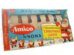 Vintage Christmas Holiday Indoor Lights  7 by BythewaysideXmas