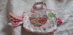 Berta mit Schmetterlingen Diaper Bag, Reusable Tote Bags, Repurpose, Cotton, Hand Crafts, Diaper Bags, Mothers Bag