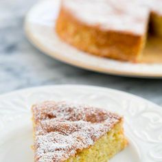 Flourless Lemon Almond Cake Recipe Desserts with eggs, lemon zest, ground cardamom, white sugar, almond flour, baking powder, cider vinegar, salt, powdered sugar