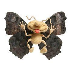 Moth or butterfly by Irina Yegorova