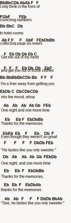Flute Sheet Music: Thnks Fr Th Mmrs