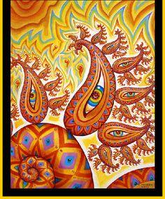 Alex Grey Art Alex Gray Art, Alex Grey, Theater Mask Tattoo, Tool Artwork, Tool Band, Psy Art, Visionary Art, Psychedelic Art, Whimsical Art