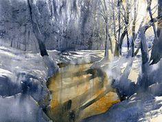 Watercolor  by Grzegorz Wróbel