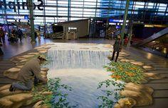 Cachoeira Em Airport. Amsterdam