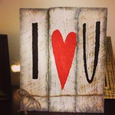 Handmade I heart U by ThatsMyNameDesigns on Etsy, $22.00