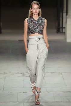 Isabel Marant Spring 2017 Ready-to-Wear Fashion Show - Maartje Verhoef (Women)