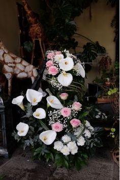 Funeral Spray Funeral Sprays, Floral Wreath, Wreaths, Plants, Image, Home Decor, Homemade Home Decor, Flower Crowns, Door Wreaths