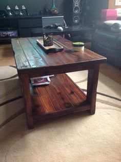 We recently bought a new sofa set for our living room, and when nice new furniture came in, our existing old Ikea Lack coffee table just did not suite well anymore. We wanted to make more of a cozy...