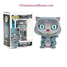 Pop! Disney: Cheshire Cat (Grinsekatze) flocked (behaart)  Nr. 178  Ca. 10 cm groß  Spare mit unserer Punktekarte 1€