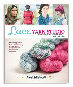 7c95992cb74868 Look at this  zulilyfind! Lace Yarn Studio Paperback by Sterling   zulilyfinds Lace Knitting