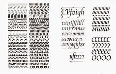 Обзор инструментов по каллиграфии - barbariskina