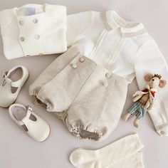 Discover traditional, high-quality clothing from Pepa & Co for boys aged - Our classic looks feature quintessentially British designs; Baby Boy Baptism Outfit, Baby Boy Dress, Baby Boy Outfits, Kids Outfits, Christening Clothes Boy, Baptism Outfits For Boys, Baby Boy Suit, Baby Christening, Baby Girl Fashion