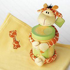 Take a look at this Jo Jo Giraffe Plush Keepsake Set by Baby Aspen on #zulily today!