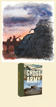 """""""The Ghost Army of World War II"""" A new exhibition at the Salmagundi Club, examines the work of """"The Ghost Army"""" a unit of artists in WWII whose task was to use visual and auditory trickery to deceive the enemy. One of the men was #LeagueArtist Edward Boccia, who studied with Reginald Marsh before the war."""