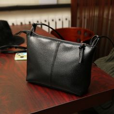 0e867b43ead3 High Quality Concise Soft Black Pu Leather Women Shoulder Bag Designer  Small Flap Messenger Bag Crossbody Purse Bolsa Feminina   Click the image  to visit ...