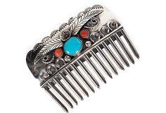 Native American Hair Comb