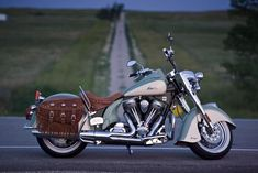 What a beautiful Indian motorcycle!