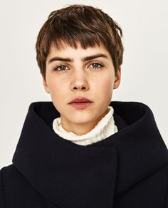 COAT WITH WRAP COLLAR-Coats-OUTERWEAR-WOMAN | ZARA United States