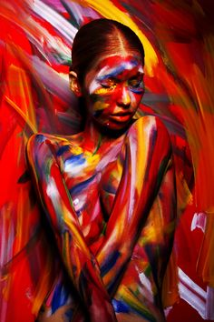 Beautiful Makeup & Body Painting by Viktoria Stutz