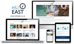 New Website for HS2 East - Connectivity, Productivity and Growth