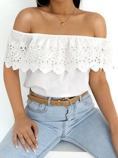 BRITTANY WHITE BLOUSE