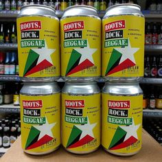 New beer. Limited Release Roots. Rock. Reggae - 6.4% Grapefruit & Pineapple IPA from @roostersbrewco in stock now