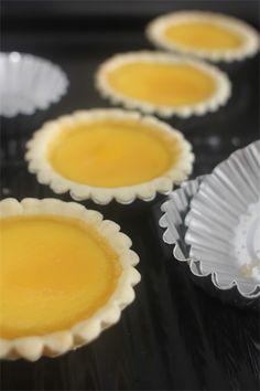 Hong Kong style egg tart 港式蛋撻