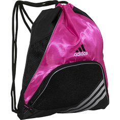 #Adidas, #Backpacks, #SchoolDayHikingBackpacks - adidas Team Speed Sackpack Intense Pink/Black - adidas School & Day Hiking Backpacks