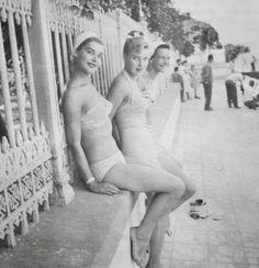 OĞUZ TOPOĞLU : 1958 istanbul büyükada avrupa güzellik yarışması g...