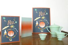 Birth announcement by Mino Paper Sweets http://minopapersweets.blogspot.com
