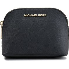 Michael Michael Kors Cosmetics Bag Cindy Travel Pouch 18K ($85) ❤ liked on Polyvore featuring beauty products, beauty accessories, bags & cases, bags, travel bag, travel toiletry case, travel kit, dop kit and make up bag