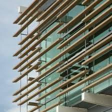 "Image result for facade gradual sun ""horizontal"""