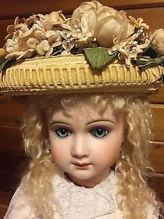 Precious-24-Andre-Thuillier-Size-14-A-T-French-Bebe-Doll-In-Antique-Clothing