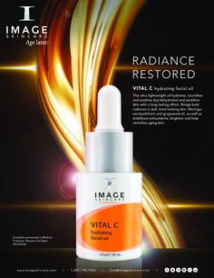 Image Skincare, Restore Images, Rapeseed Oil, Chemical Peel, Facial Oil, My Images, Healthy Skin, Skin Care Tips, Whitening