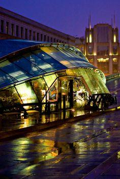 D.C. Bike Station | KGP Design Studio | Washington, D.C. | Bicycle Parking Facility | Photograph Bike Station