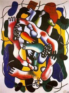 Fernand Leger (1881 - 1955) | Cubism | Diverspolychrome