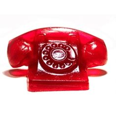 """How do you answer a phone made entirely out of gelatin? """"Jell-O? JELLLL-OOOOO!?"""" Dustin Black brings you an animated .gif of the ringing Jell-O phone."""