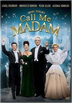 Call Me Madam (1953) Poster