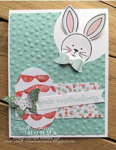 Eggstraordinary Easter Bunny ~ by Breelin Renwick | Craft-somnia Momma