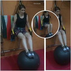 Flávia Assaife trainning Pilates