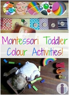 Montessori Toddler Colour Activities | Racheous - Lovable Learning