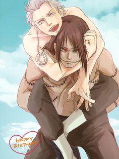 Kakuzu and Hidan having fun ? ^ ^ #naruto