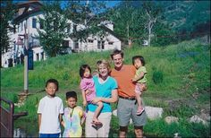 Ex-banker Steven Sueppel with his wife Sheryl and their children (L to R) Ethan, Seth, Mira and Eleanor. After being busted for embezzling and losing his job, he killed them all with a baseball bat and then called the cops after failing to kill himself. Charles Whitman, Basketball T Shirt Designs, Basketball Games, Immediate Family, Old Wife, Criminology, 6 Year Old, Adopting A Child, Murder Mysteries
