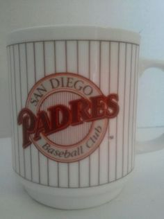 San Diego Padres (1990) Collectible Mug Cup Tony Gwynn MLB in Collectibles, Decorative Collectibles, Mugs, Cups | eBay